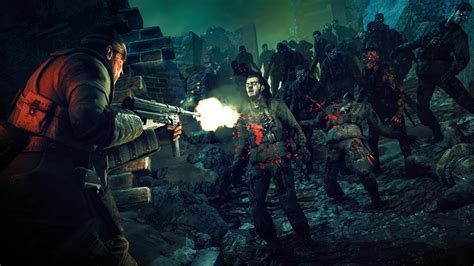war  hell   zombie army trilogy gameplay trailer