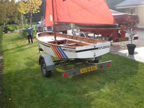 Sailing Boat Competition by Mirror Competition Sailing Boat Including Trailer Catawiki