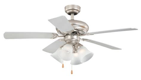turn of the century fans turn of the century minerva 44 in brushed nickel ceiling