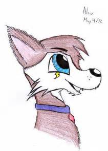 Cute Cartoon Wolf Drawings