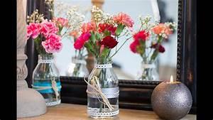 Centre De Table Champetre : bricolage facile diy vase champ tre centre de table ~ Melissatoandfro.com Idées de Décoration