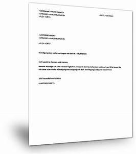 Untermietvertrag Kündigung Muster : muster k ndigung liefervertrag ~ Frokenaadalensverden.com Haus und Dekorationen