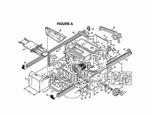 Ryobi Bt3100 Parts List