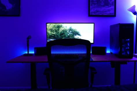 How To Put Up Led Lights In Room by Diy Led Lighting For Your Desk Hi I M Ethan Thompson