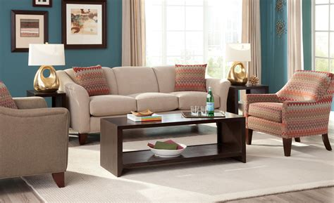 Furniture Row Living Room Groups by Craftmaster 7844 Stationary Living Room Belfort