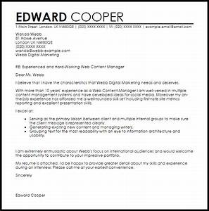 cover letter content infobookmarksinfo infobookmarksinfo With contents of a good cover letter
