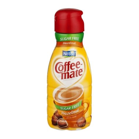 As a dietary supplement, the product can help deal with several. Nestle Coffee-Mate Creamer Sugar Free Hazelnut - 32.0 FL ...