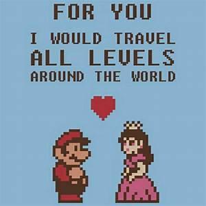 FUNNY MARIO BRO... Mario Love Quotes