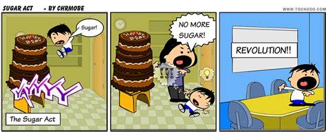 Sugar Act Cartoon