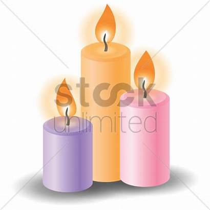 Spa Vector Candles Stockunlimited Graphic