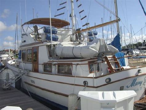 Marine Trader Boat Parts by 1983 Marine Trader 44 Trawler Boats Yachts For Sale