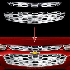 chevrolet malibu chrome snap  grille