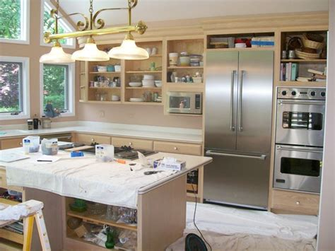 sanding kitchen cabinets yourself yourself step by step refinishing kitchen cabinets 5068