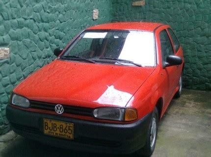 vendo volkswagen gol 1 6 1997 bogota clasificados de compra y venta de carros y motos colombia