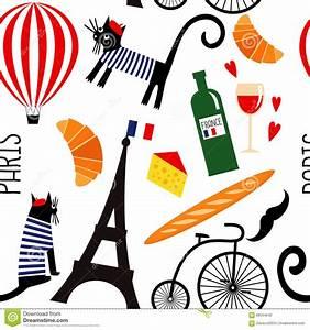 French Symbols Vector Illustration | CartoonDealer.com ...