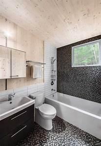 salle bain mosaique noire With mosaique noire salle de bain