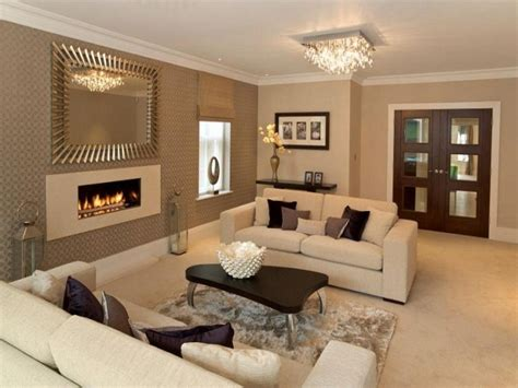 design ideas of home living room with beige wall