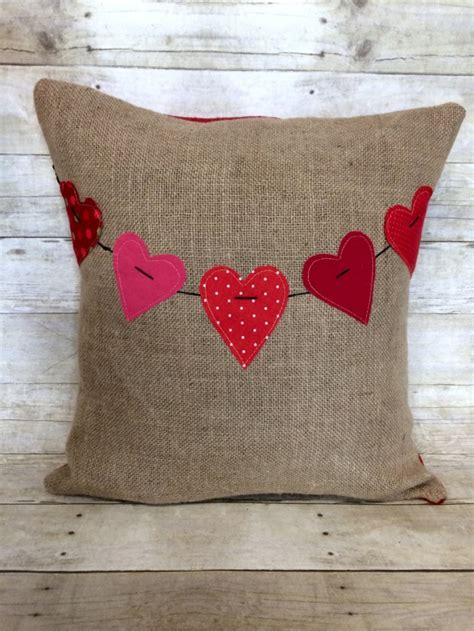 charming handmade valentines day pillow designs