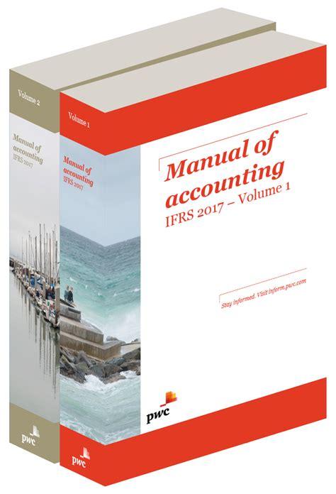 manual  accounting ifrs pwc