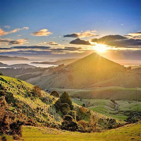 otago peninsula otago  zealand sunrise   otago