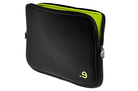 housse de pc portable sacoche pour ordinateur portable be ez housse noir et verte pour macbook 13 quot ou pc 13