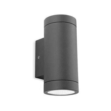 firstlight 5938gp shelby led graphite outdoor wall light