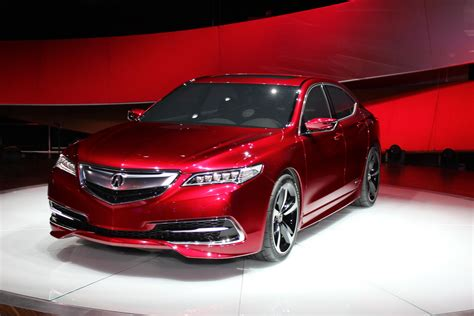 2015 acura tlx prototype full details live photos video