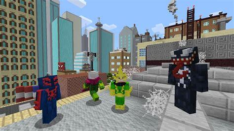 minecraft xbox   pack de skins spiderman fr minecraft