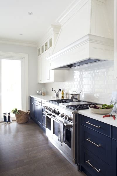 navy blue kitchen cabinets beautifully colorful painted kitchen cabinets 3467