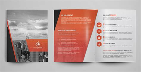 Bifold Brochure Template by 30 Really Beautiful Brochure Designs Templates For