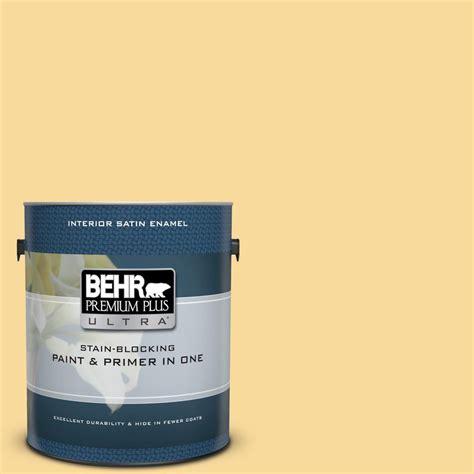 behr premium plus ultra 1 gal 360c 3 honey tone satin