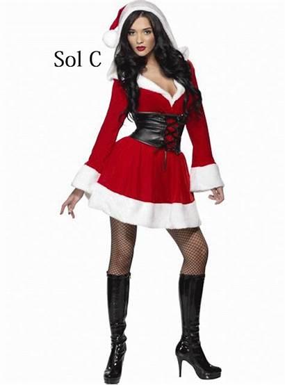 Costumes Xmas Santa Claus Costume Mrs Adult
