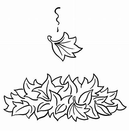Coloring Leaf Pages Fall Printable