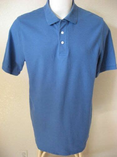 mens polo shirt lt l barrow performance classic 3 button casual usd 97 end date