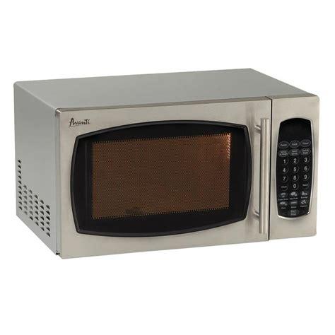 countertop microwave stainless steel avanti 0 9 cu ft 900 watt countertop microwave in