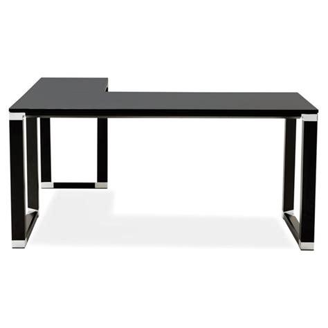 bureau d angle noir bureau d angle design quot hovik quot bois noir