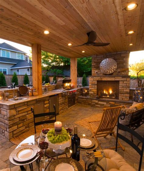 outdoor cooking area ideas 27 smart ways to illuminate an outdoor space digsdigs