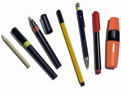 Pencils Pens Markers Vector Pen Pencil Marker