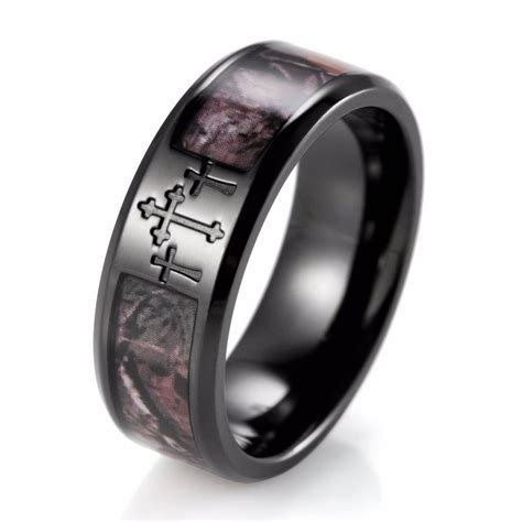 collection  mens wedding bands  cross