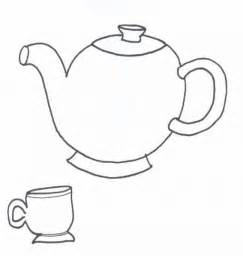 Alice in Wonderland Tea Coloring Pages Printables