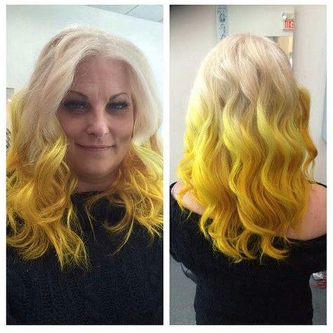 17 Best Ideas About Yellow Hair Dye On Pinterest Yellow
