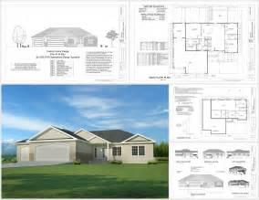 free house blueprints this weeks free house plan h194 1668 sq ft 3 bdm 2 bath garage apartment plans