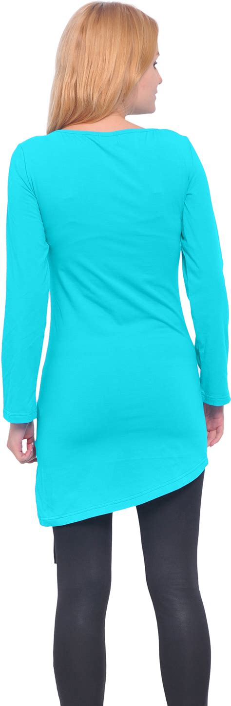 Boat Neck Tunic Tops by Marycrafts Womens Boat Neck Sleeve Tunic Tops Dress