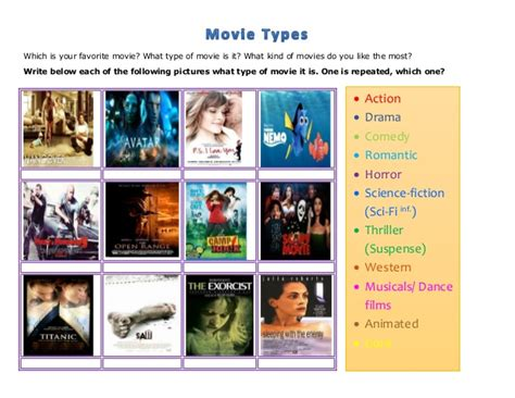 Movie Types Correction