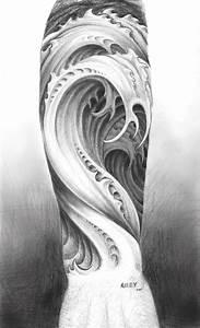 Water tattoo design by M-Amey on DeviantArt