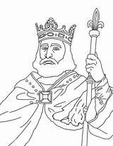 King Coloring Pages Charles Martel sketch template
