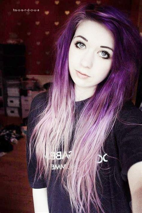 Tumblrgirlswithmulticoloredhair Blue Eyes Colored
