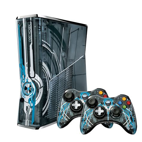 xbox halo 360 console edition limited bundle slim game special games consoles 320gb skin editions accessories custom controllers xbox360 box