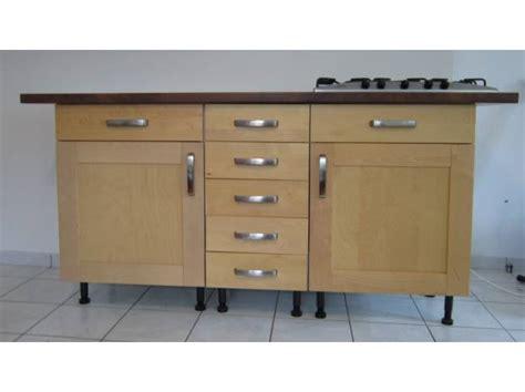 meuble plan travail cuisine meuble de cuisine avec plan de travail maison et