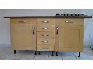 meuble de cuisine avec plan de travail wasuk With meuble bas avec plan de travail